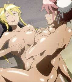 Solo woman bathing nude