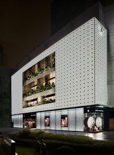 Amazing Louis Vuitton store in Shangai