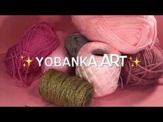 2 IDEAS CON CUERDA Y LANA Jute Crafts, Crochet Granny, Youtube, Crafts For Kids, Miniatures, Diy, Make It Yourself, Wool, Pretty