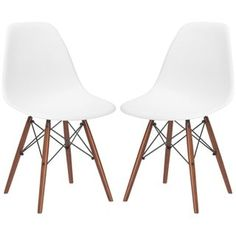 Edgemod Vortex Dining Chair with Walnut Legs (Set of 4) | Overstock.com Shopping - The Best Deals on Dining Chairs