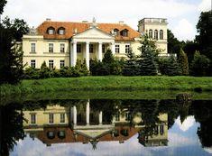 Palace Gebice, Pepowo, Wielkopolskie province, Poland.