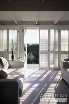 Floor to Ceiling Shutters