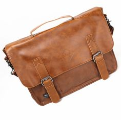 (29.17$)  Watch here - http://aio1m.worlditems.win/all/product.php?id=32556628272 - 2017 New Brand Design PU Leather Men Travel Bags Leisure Laptop Solid Shoulder Men Handbag Business Men Messenger Bags A1692