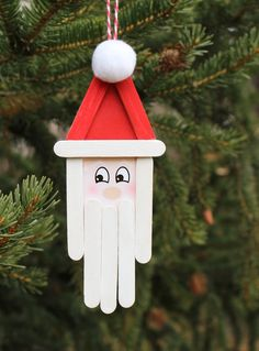 Popsicle Stick Christmas Crafts -See the DIY Holiday Ornaments Our Readers Made - Crafts ideas ?Popsicle Stick Christmas Crafts -See the DIY Holiday Ornaments Our Readers MadeNew diy christmas decorations for tree popsicle sticks ideasNew Popsicle Stick Christmas Crafts, Fun Christmas Activities, Christmas Ornament Crafts, Popsicle Stick Crafts, Christmas Crafts For Kids, Homemade Christmas, Craft Stick Crafts, Holiday Crafts, Christmas Diy