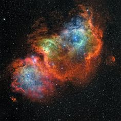 IC 1848, the Soul Nebula Photographic Print