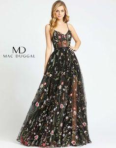 Floral Prom Dresses, Pretty Prom Dresses, Royal Dresses, Floral Gown, Grad Dresses, Plus Dresses, Ball Dresses, Cute Dresses, Beautiful Dresses