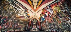 El muralismo se ha convertido en el emblema del arte mexicano, gracias a las obras de autores como David Alfaro Siqueiros, Rufino Tamayo, Diego Rivera o José...