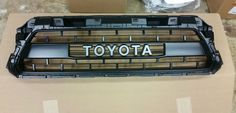 Awesome Toyota 2017: 2015 TOYOTA TACOMA TRD PRO GRILLE Check more at https://24auto.cf/2017/toyota-2017-2015-toyota-tacoma-trd-pro-grille/