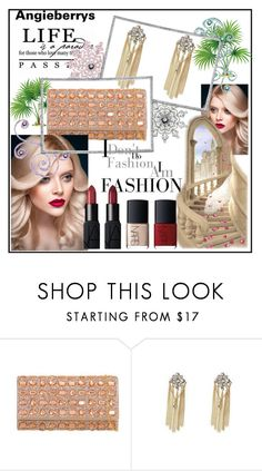 """""""ANGIEBERRYS #9"""" by nizaba-haskic ❤ liked on Polyvore featuring Massif and NARS Cosmetics"""