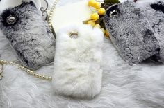 top Rabbit Fur Case for Iphone 4 4s case iPhone 5/5s/5c Case furry iPhone 5s Case, New HTC one Case Galaxy s5 fur S4 S3 Case iPhone 3gs Case on Etsy, $28.13 CAD