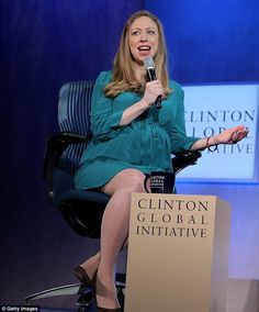 Chelsea clinton due date in Melbourne