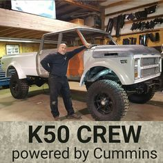 The Duke! A 1970 custom K50 Crew Cab built by Rtech Fabrications