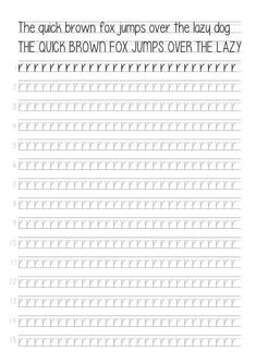 Post with 3252 views. Handwriting Template, Handwriting Practice Sheets, Handwriting Alphabet, Hand Lettering Practice, Handwriting Worksheets, Calligraphy Worksheet, Learn Calligraphy, Lettering Tutorial, Bullet Journal Ideas Pages