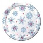 Nordic Flakes Banquet Plates, Foil - 96 per case Product # :436314 $49.26