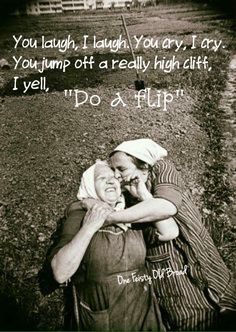 Take a look at the best funny birthday quotes in the photos below and get ideas for your own birthday wishes! Bff Quotes, Friendship Quotes, Sister Quotes Funny, Crazy Friend Quotes, Friendship Text, Sister Friend Quotes, Best Friend Quotes Funny, Friend Friendship, Happy Quotes