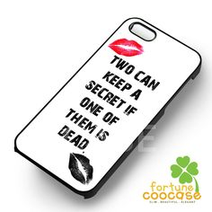 TV Show Pretty little liars Quote -5s4 for iPhone 6S case, iPhone 5s case, iPhone 6 case, iPhone 4S, Samsung S6 Edge