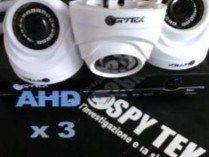 Kit videosorveglianza 3 telecamere hd