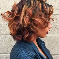 Love This Custom Color via @salonchristol - http://community.blackhairinformation.com/hairstyle-gallery/relaxed-hairstyles/love-this-custom-color-via-salonchristol/
