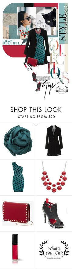 """whatsyourchic"" by palmanana ❤ liked on Polyvore featuring Bajra, Gold Case, Valentino, HADES, Giuseppe Zanotti and Bobbi Brown Cosmetics"