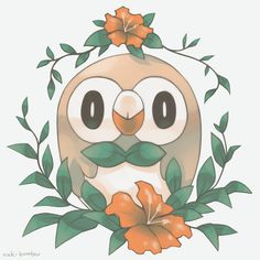 Rowlet by Rock-Bomber
