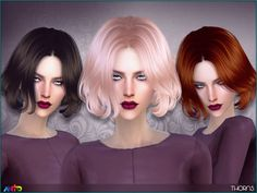 Sims 4 CC's - The Best: Anto - Thorns (Hair)