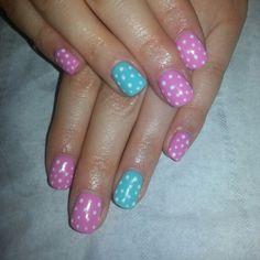Polka dot Polka Dots, Nails, Beauty, Finger Nails, Ongles, Polka Dot, Beauty Illustration, Nail, Dots