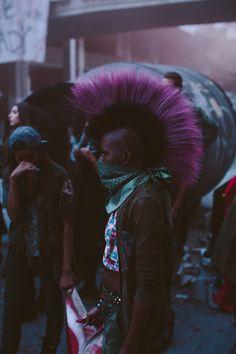 Black power punk is beautiful Alternative Girls, Alternative Fashion, Beyonce, Estilo Punk Rock, Moda Punk, Afro Punk Fashion, Gothic Fashion, High Fashion, Always A Bridesmaid