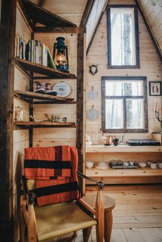 a tiny cozy cabin getaway in the Catskills