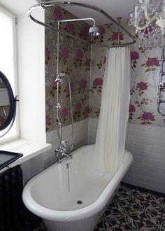Victoria Albert - Chesire.  Shower over a free standing bath