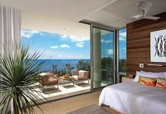 Two Modern Villas Built On A Cliff Of Caribbean Island | World of Architecture