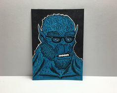 "2.5"" x 3.5"" XMEN Beast Sketch Card"