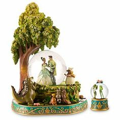 The Princess and the Frog Snow Globe Set 2-Pc.  yuckles.com