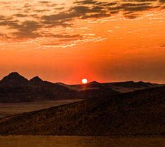 Sunset in the Kunene  #Namibia #landscape