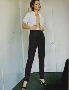 ☆ Christy Turlington | Photography by Mario Testino | For Harper's Bazaar Magazine US | September 1995 ☆