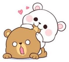 milky and mocha bear gif Cute Bear Drawings, Cute Couple Drawings, Cute Couple Cartoon, Cute Love Cartoons, Cute Kawaii Drawings, Cute Drawings Of Love, Cute Cartoon Drawings, Gif Lindos, Memes Lindos