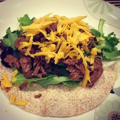 Clean shredded beef Taco recipe. 21 day fix APPROVED!!!