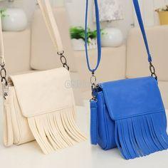 $8.90 Women's Girl Tassel Shoulder Bag Cross-body Handbag