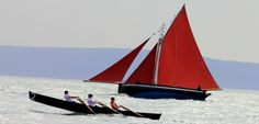 An Tóstal Festival 6th of May Salthill Galway (Galway Hooker in the background)