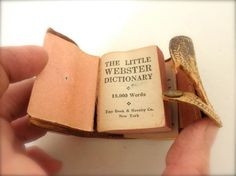 So Cute Tiny Webster Dictionary 18000 Words in the by JackpotJen