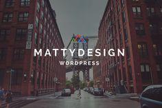 Matty - Powerful and Flexible Theme