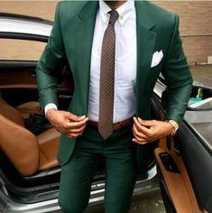 Dark Green Wedding Tuxedos Groom Suits For Men 2021 Slim Fit Prom Party Dinner Peaked Lapel (Jacket +Pants) Business Tuxedo Wedding, Wedding Suits, Wedding Tuxedos, Wedding Dresses, Green Prom Tuxedo, Green Suit Men, Summer Jacket, Dress Summer, Blazers