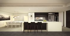 FloodSlicer is Australia's premier rendering and animation company and a world leader in pre-built visualisations World Leaders, Interior, Kitchen, Style, Cucina, Cooking, Indoor, Kitchens, Stylus