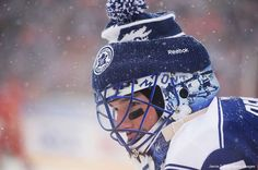 History Of Winter Classic Goalie Masks: The Good, The Not So Bad And The Ugly:       The Good: Jonathan Bernier, Toronto Maple Leafs ﴾2013﴿