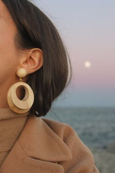 Image of Wooden earrings