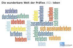 Tauchen wir ein in die wunderbare Welt der Präfixe, in diese Welt, die der deutschen Sprache ihre Einzigartigkeit verleiht. Mit einem einzigen Verb können wir einerseits, je nach Präfix, völlig unt…