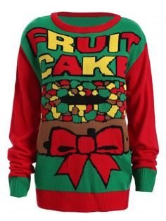 Ok 25 still awesome http://m.rosegal.com/plus-size-sweaters-cardigans/christmas-fruit-cake-pattern-plus-887238.html?seid=7201883rg887238