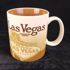 Starbucks Las Vegas 2011 Coffee Mug Cup Collector City Series Global Icon 16 oz   eBay