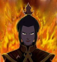 Azula from Avatar: The Last Airbender. I don't think I've loathed a character so much since Dolores Umbridge. I don't just want her beaten. I want this bitch DEAD.