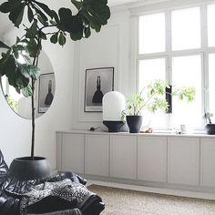 Livingroom corner DIY enklaste IKEA köksskåpen med lister och färg Tikkurila´s Helmi series – the shade is number 1943 from Deco Grey color chart maijausaw.stillifeblogs.com