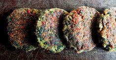 Recetas vegetarianas: Como hacer hamburguesas de acelga y arroz. Rápidas, económicas, sencillas y sin horno.